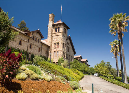 The Culinary Institute of America at Greystone in St. Helena, CA tops the best culinary school list as the world's premier culinary college. Photo: The CIA's main building in St. Helena, CA.