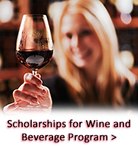 Scholarships for Wine & Beverage Program