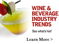 Wine and Beverage Industry Trends. Learn More.