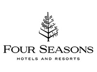 Four Seasons Hotels & Resorts logo, recruiting CIA hospitality management bachelor's degree grads.