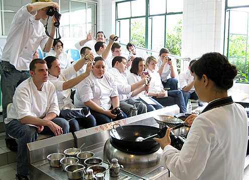 China - chef demonstration