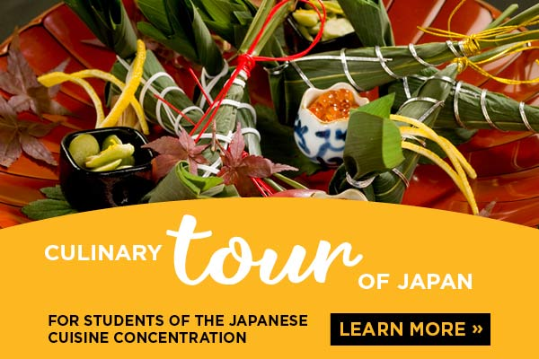 Culinary Tour of Japan for Students of the Japanese Cuisine Concentration