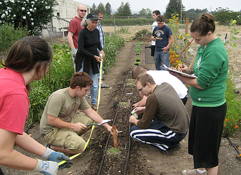Gardening and farm-to-table experience at the CIA