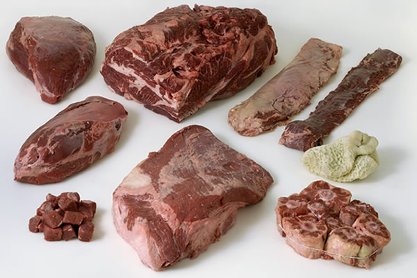 image of types of beef chuck at the CIA
