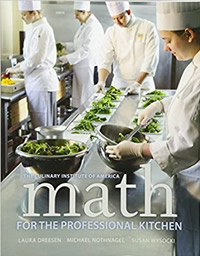 Math for the Professional Kitchen, 1st Edition