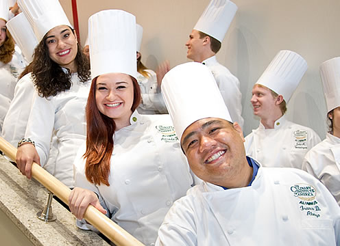 How to apply to The Culinary Institute of America: a list of steps and instructions. Learn about CIA associate, bachelor's, and certificate programs, as well as the CIA's application process and how to get college application help. Take the first step towards living your culinary dream! Apply now, find out about qualifying scholarships.