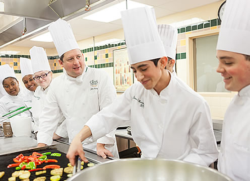 High school students can fulfill their food dreams at The Culinary Institute of America. Check out our specialized programs for high school seniors and high school juniors. Find out about scholarships, early admissions, and tuition costs.