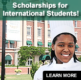 Grants for International Students...Learn More >