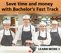 Save time and money with Bachelor's Fast Track