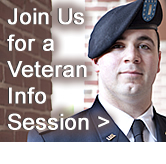 Join Us for a Veterans Info Session