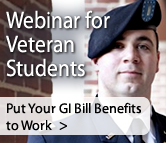 Webinar for Veteran Culinary School Students: Put Your GI Bill Benefits to Work