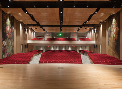 Marriott Pavilion and Ecolab Auditorium