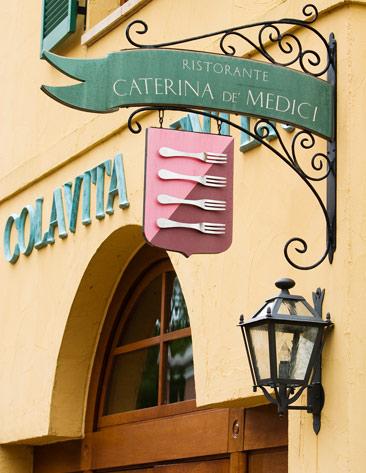 The Ristorante Caterina de Medici: Italian restaurant at The Culinary Institute of America, NY.