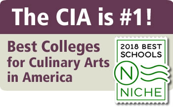 The CIA is Niche's 2018 #1 Best College for Culinary Arts