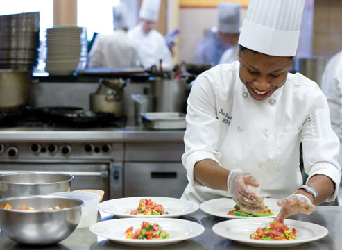 Come immerse yourself in the world of food with the CIA! The Culinary Institute of America offers associate and bachelor's degrees in culinary arts, baking and pastry arts, and culinary science.